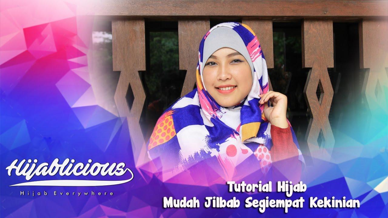 Hijablicious Tutorial Mudah Hijab Segiempat Kekinian YouTube