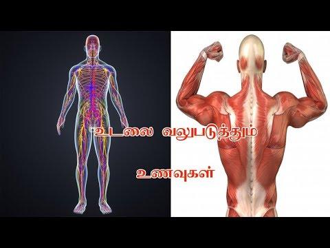 உடலை வலுபடுத்தும் உணவுகள் - Body Strength Foods In Tamil - Siththarkal Ulagam