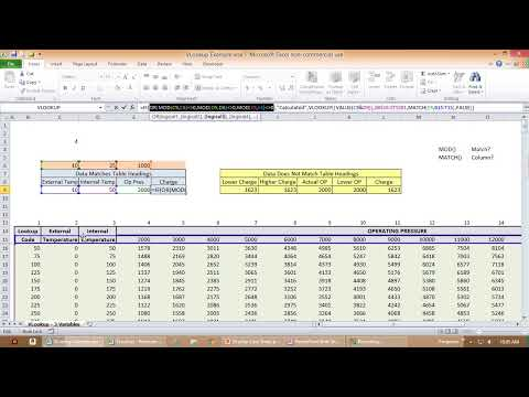 Oilfield Equipment Surface Pressure Calculation Tool (VLOOKUP Case Study)