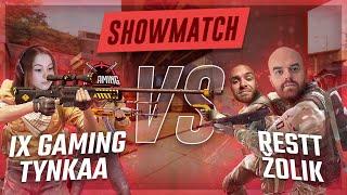 Restt + Žolík vs IX Gaming + Tynka | 2v2 CS:GO showmatch by Republeague