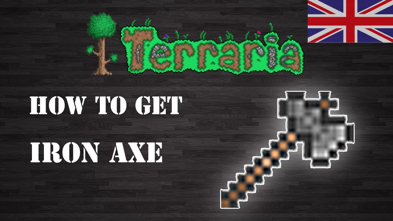 Terraria Iron Axe Eng How To Get Step By Step