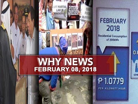 UNTV: Why News (February 08, 2018)