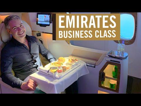 EMIRATES - BUSINESS CLASS - 777-200 - Do Rio de Janeiro a Buenos Aires