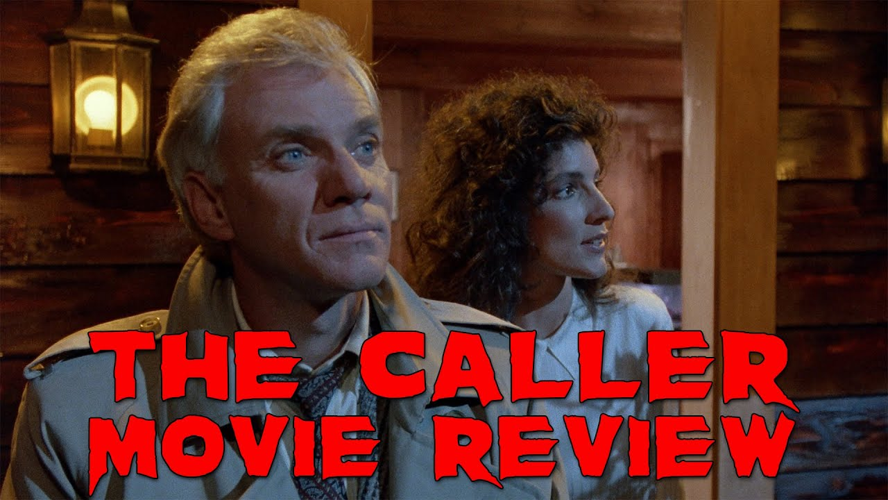 Download The Caller | Movie Review | 1987 | Vinegar Syndrome | Blu-Ray | Malcolm McDowell |