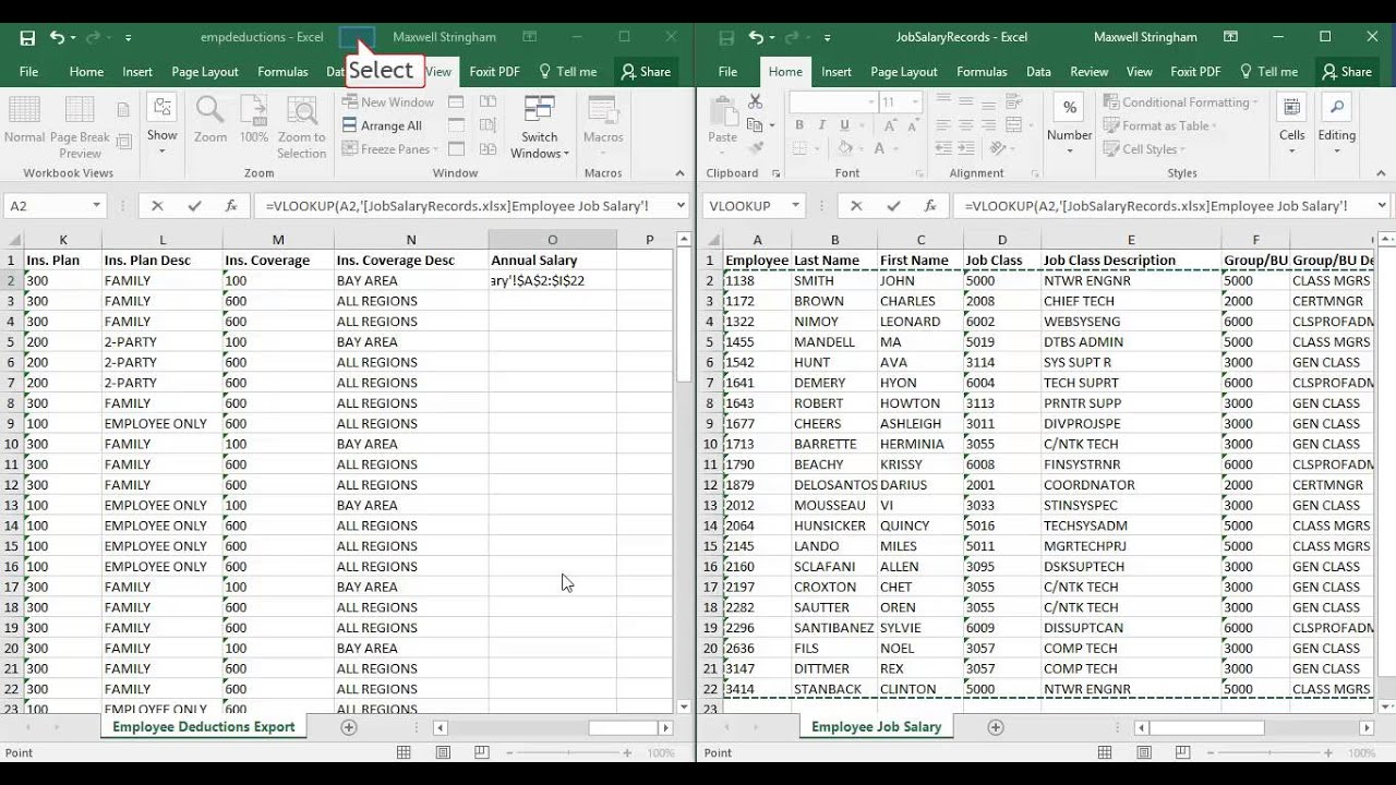 Excel VLOOKUP With Multiple Workbooks