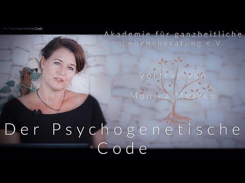 Der Psychogenetische Code - Der komplette Vortrag - Moni Motzko - blaupause.tv