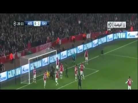 Arsenal 1 - 3 Bayern Munich GOALS and highlights 2013 HD Maç Özeti