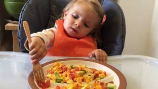 Healthy toddler diaries - What I feed my 16 months old in a day