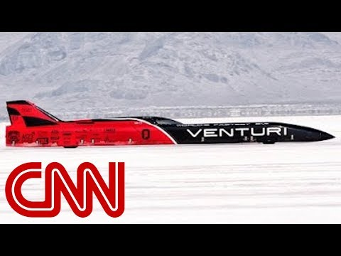 Venturi smashes EV land speed record