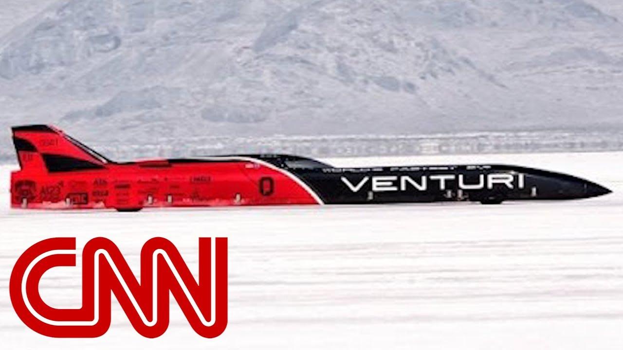 Land Speed Record >> Venturi Smashes Ev Land Speed Record