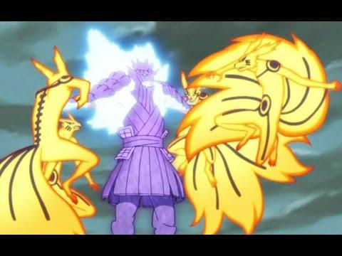 Naruto Vs Sasuke Final Fight HD full fight : Masashi
