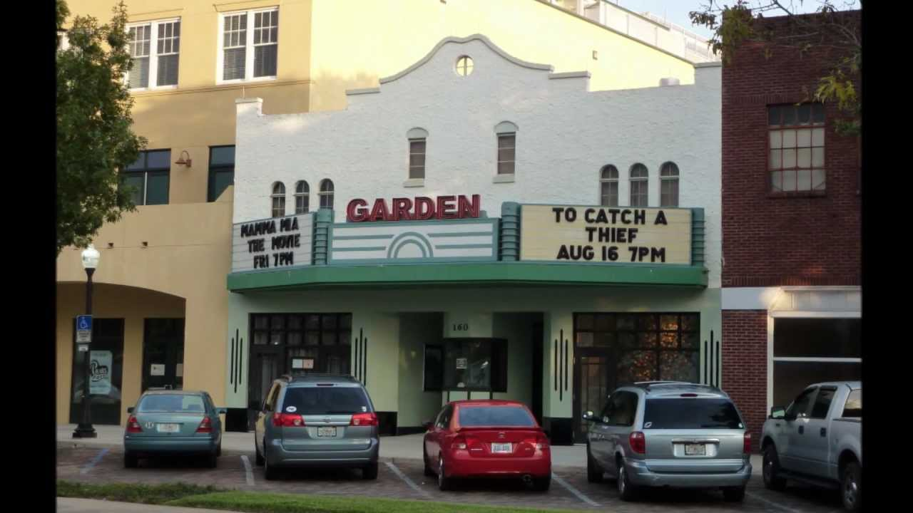 historic winter garden florida including the garden theater and