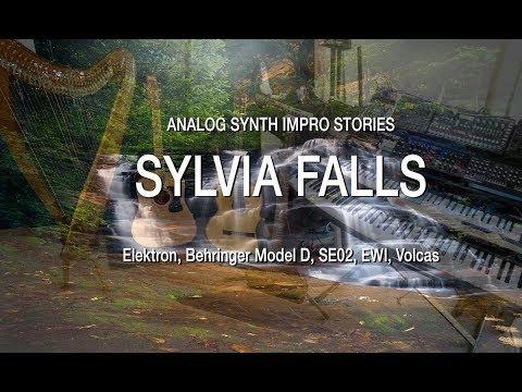 SYLVIA FALLS: Analog Synth LIVE Impro Stories, No computer! Behringer Model D, SE02, Elektron, Ewi