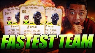 FASTEST TEAM ON FIFA 15 - 99 CHEMISTRY!! Thumbnail