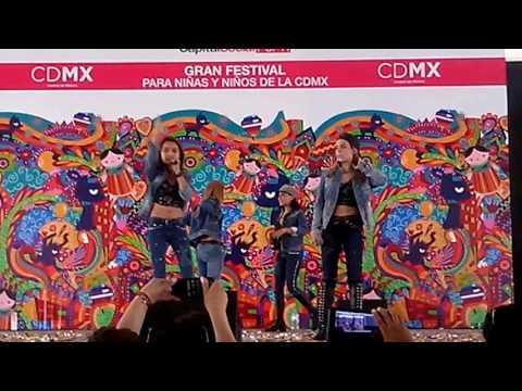 Grupo Yei Yei En El Gran Festival para Niños y Niñas De La CDMX😃😃😘
