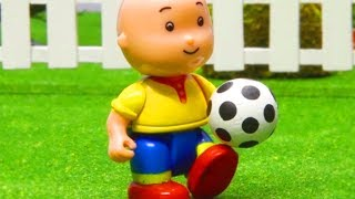 Caillou and the Soccer Game | Stop Motion Series |