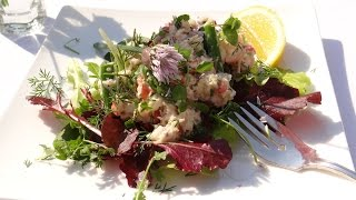 Spring Seafood Salad Recipe - You Can Use Spring Herbs With Crab, Shrimp, Lobster, & More