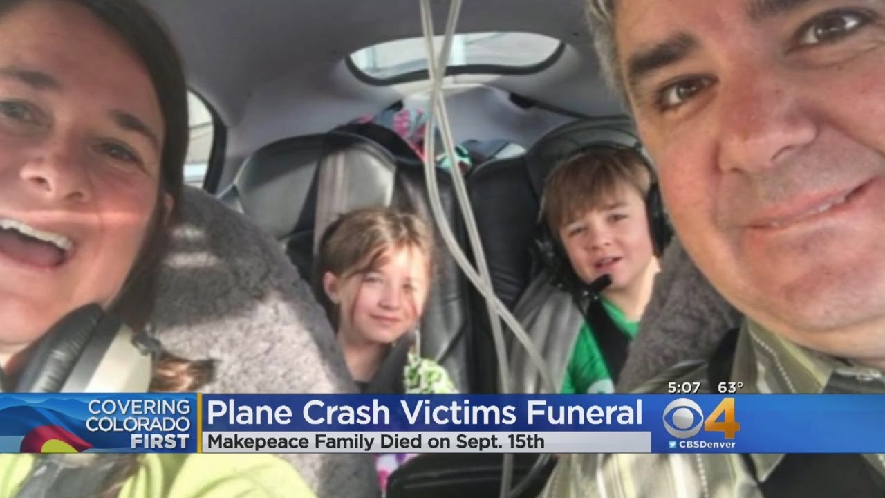 Plane Crash Victims Remembered At Funeral Youtube