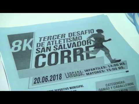 "Se presentó ""San Salvador corre 2018"""
