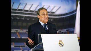 بيريز رئيس ريال مدريد لا يفكر في رحيل رونالدو