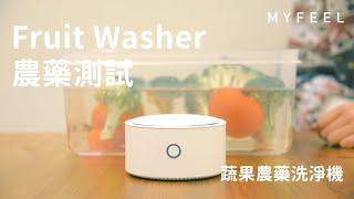 水果蔬菜農藥檢驗影片實測 Fruit Washer 蔬果農藥洗淨機