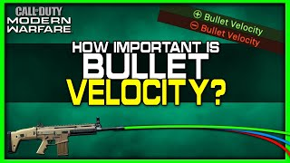 How Important is Bullet Velocity in Modern Warfare?