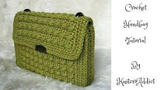 How to crochet handbag