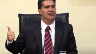 Capitanich se refiere al desarrollo industrial en el Chaco
