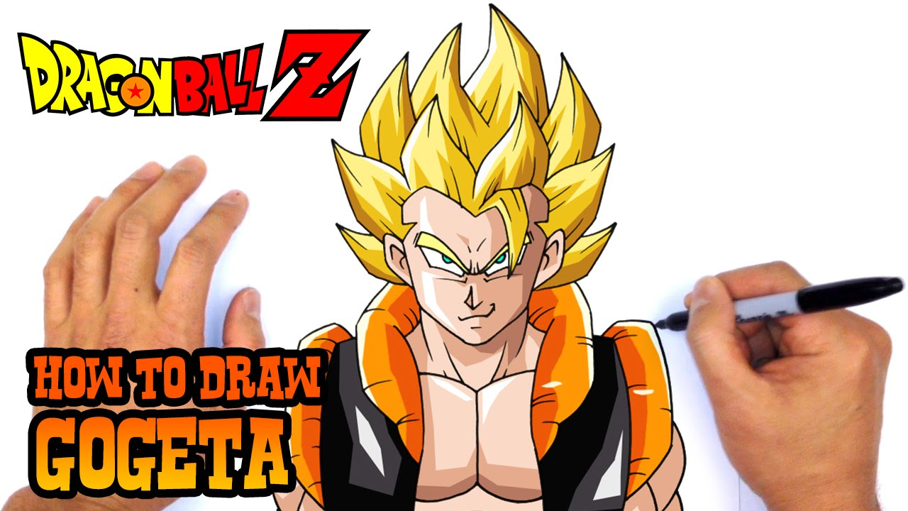 How to draw gogeta dragon ball z youtube publicscrutiny Gallery
