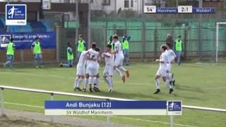B-Junioren - SV Waldhof Mannheim vs. FC Astoria Walldorf 2-1 - Andi Bunjaku