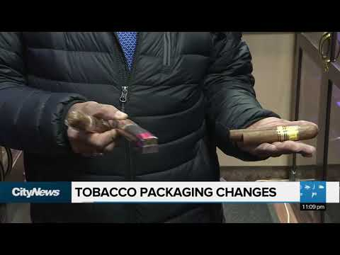Tobacco Package Changes