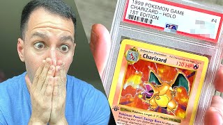 Grading My Lost $55,000 Charizard Pokémon Card