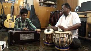 "Saare jahan se acha"" in Harmonium By R.S.A.Sudarshan,Nanganallur Music school srisainatyalayam,"