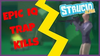 EPIC IQ TRAP KILLS | Roblox Strucid #1