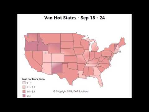 Fall freight season: Dry van demand from late July through Thanksgiving