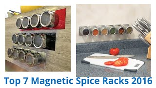 7 Best Magnetic Spice Racks 2016