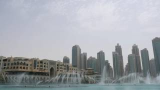 The Dubai Fountain: Time To Say Goodbye (Andrea Bocelli & Sarah Brightman)