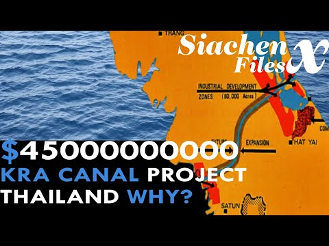 THAILAND is Building $45 Billion KRA CANAL near PHUKET SOUTH CHINA SEA INDIAN OCEAN | Part 1