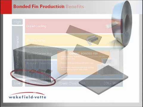 Bonded Fin Heat Sinks: Wakefield-Vette