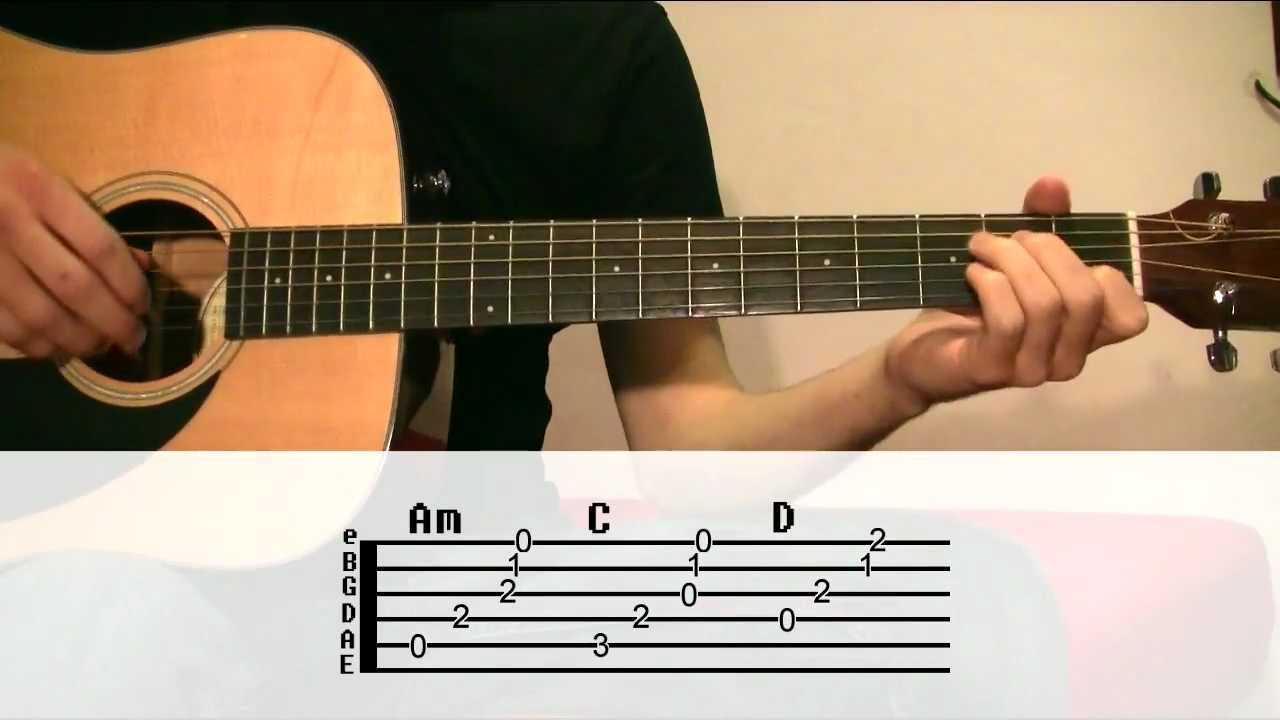 Guitar Lesson Johnny Cash Hurt With Tabs Engspa Subtitles