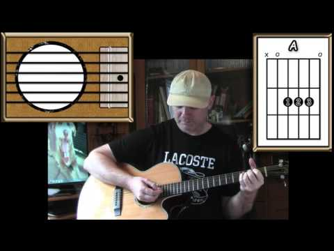 Oh, Pretty Woman - Roy Orbison - Acoustic Guitar Lesson (easy-ish ...