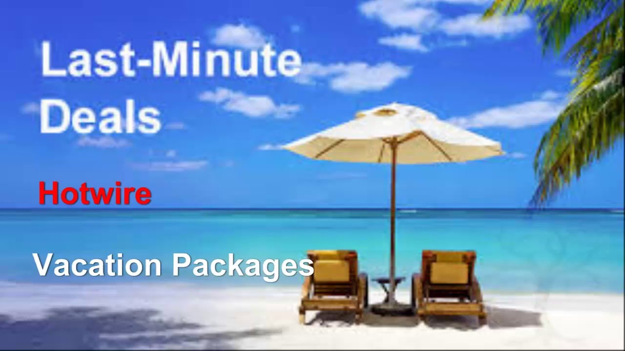 Hotwire Vacation Packages All Inclusive Review - YouTube