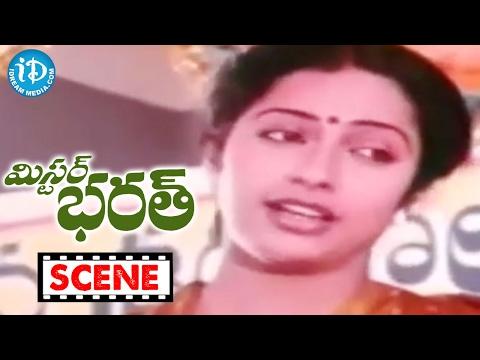 Mr Bharath Movie Scenes - Charan Raj Remembers Sharada's Challenge || Suhasini || Sobhan Babu