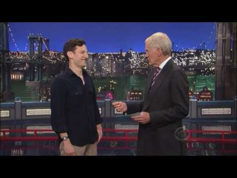 Dan Fox - Stupid Human Tricks (Letterman 10.3.13)
