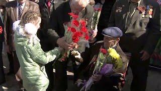 В Ростовской области для ветерана Великой Отечественной войны провели персональный парад.