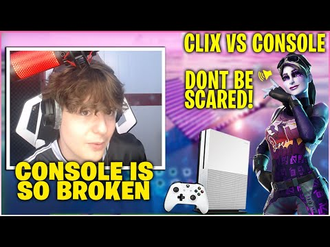 CLIX Gets Challenged By Cracked CONSOLE Players To 2v2 Zone Wars Wagers Then This Happened!