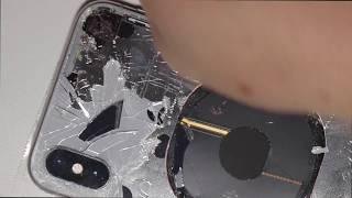 iPhone X バックパネルガラス交換修理やり方方法