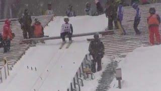県民スキー大会 「ジャンプ」