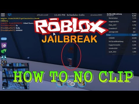 New 2018 How To Noclip Hack Updated Again Crazy Roblox Jailbreak Youtube