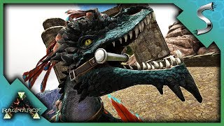 USING A ROCK DRAKE ON RAGNAROK! - Ark: RAGNAROK [DLC Gameplay E97]